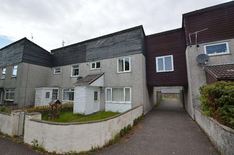 3 Bedrooms Terraced House for sale in Bute Court, Irvine, North Ayrshire, KA11 4JN