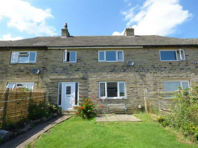 3 Bedrooms Terraced House for sale in Sunny Heys West, Meltham, HOLMFIRTH, West Yorkshire, HD9
