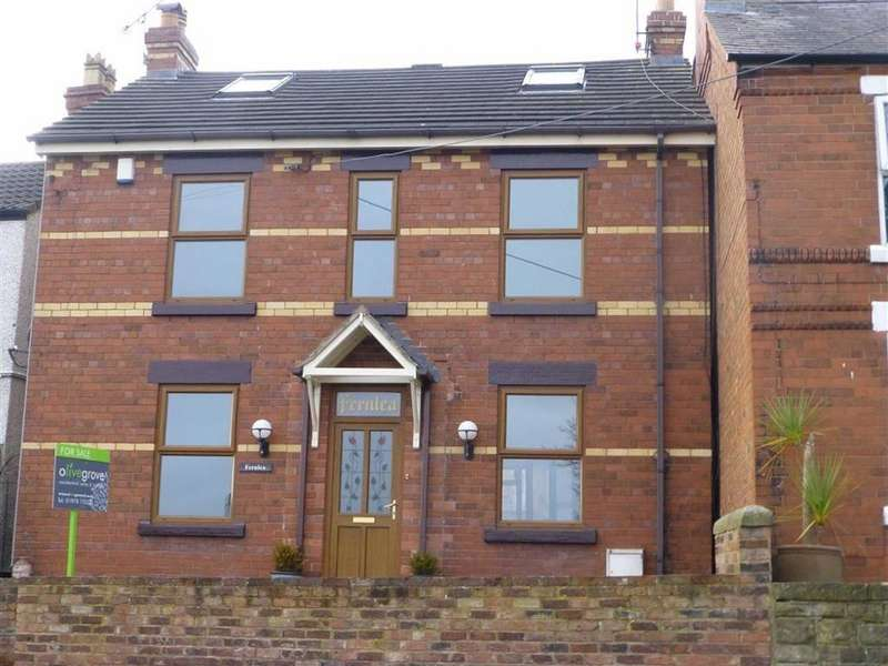 4 Bedrooms Detached House for sale in Bottom Road, Wrexham