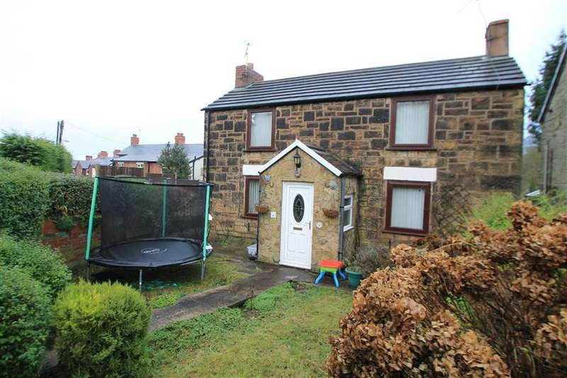 2 Bedrooms Detached House for sale in Coed Y Felin Road, Brymbo, Wrexham