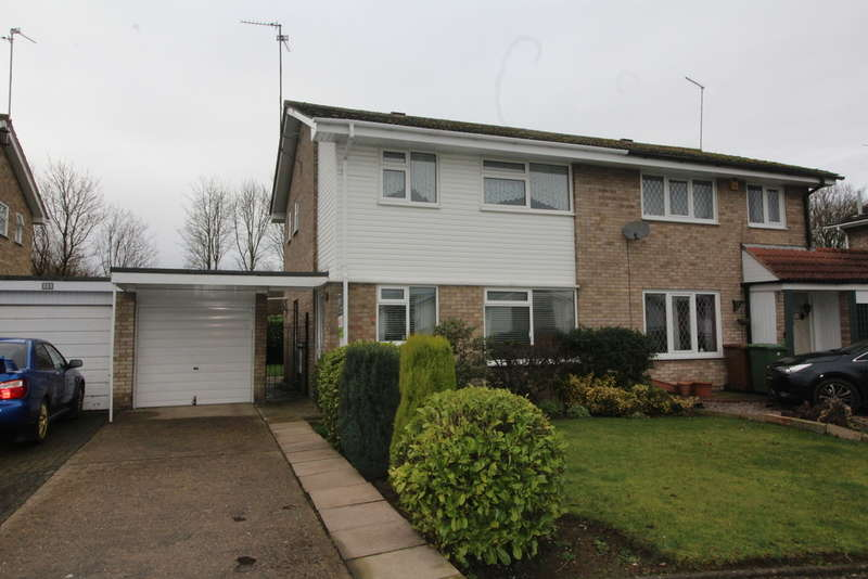 3 Bedrooms Semi Detached House for sale in Sherborne Road, Peterborough