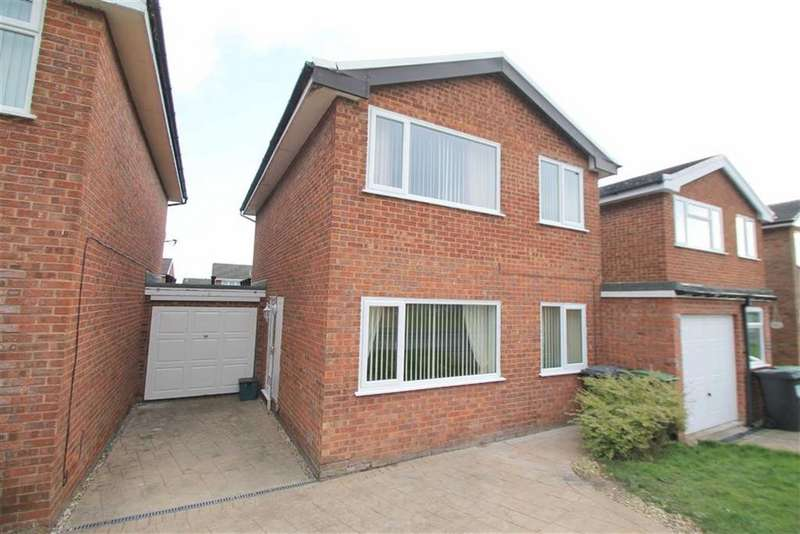 4 Bedrooms Link Detached House for sale in Beacon Road, Gwersyllt, Wrexham