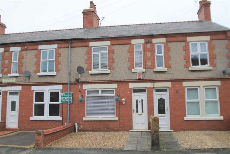 2 Bedrooms Terraced House for sale in Manor Grove, Gwersyllt, Wrexham