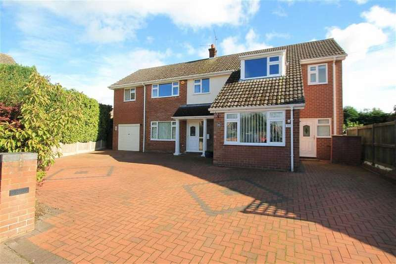 4 Bedrooms Detached House for sale in Lake View, Borras, Wrexham