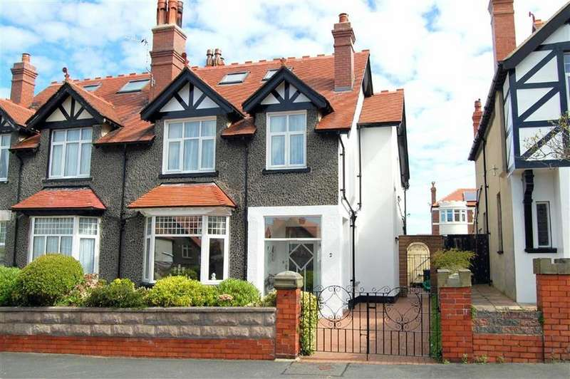 4 Bedrooms Semi Detached House for sale in Roumania Crescent, Craig Y Don, Llandudno, Conwy