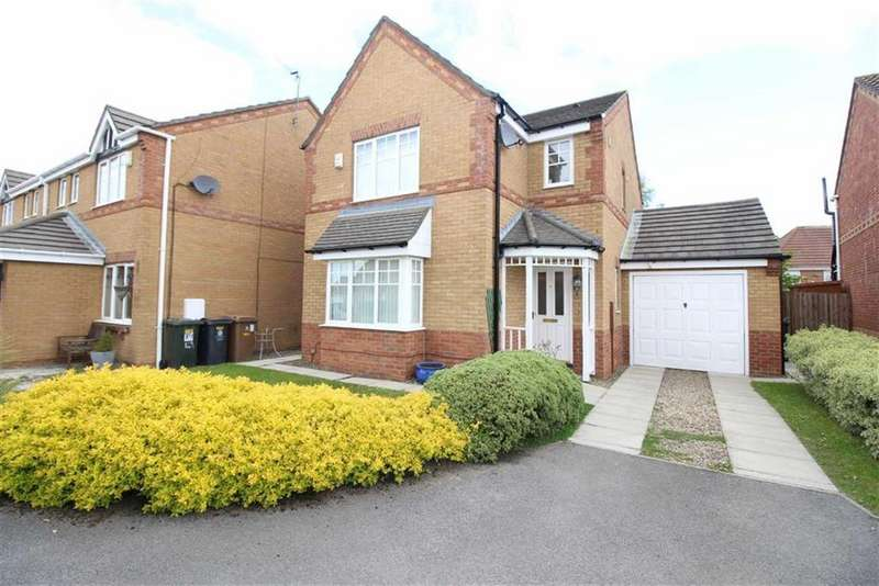 3 Bedrooms Detached House for sale in Bede Close, Newcastle Upon Tyne