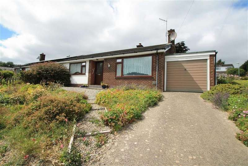 2 Bedrooms Semi Detached Bungalow for sale in Oakfield, Garth, Llangollen