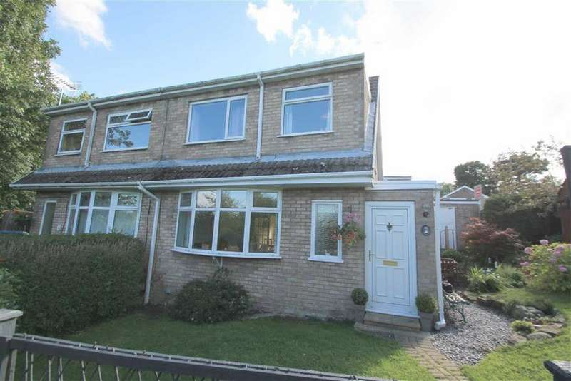 3 Bedrooms Semi Detached House for sale in Cae'r Efail, Bwlchgwyn, Wrexham