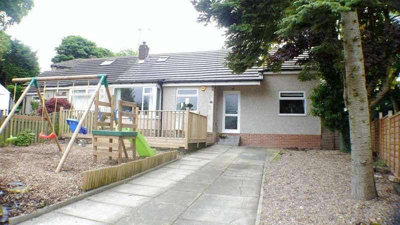 3 Bedrooms Semi Detached Bungalow for sale in Bray Close, Horton Bank Top, Bradford, BD7 4LU