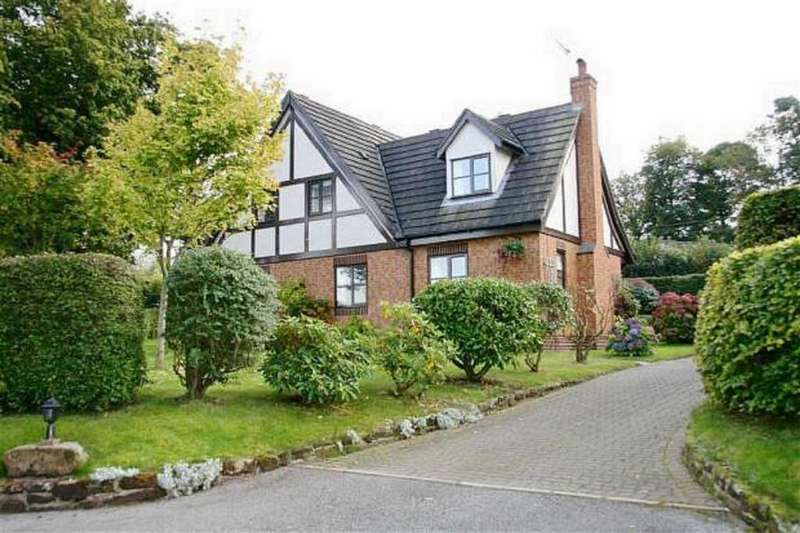 4 Bedrooms Detached House for sale in High Cross Lane, Clutton