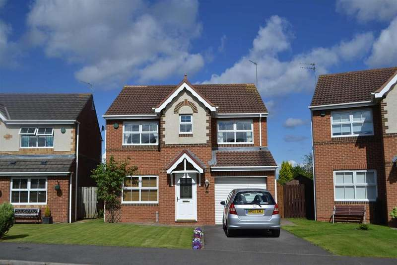 4 Bedrooms Detached House for sale in Englemann Way, Burdon Vale, Sunderland