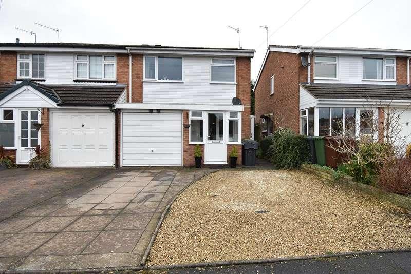 3 Bedrooms Semi Detached House for sale in Bracken Grove, Bromsgrove