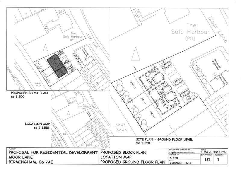 Land Commercial for sale in LAND TO REAR OF 18A MOOR LANE, WITTON, B6 7AE