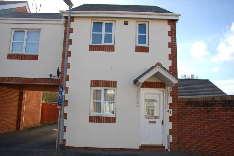 2 Bedrooms End Of Terrace House for sale in Cashford Gate, Taunton