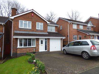 4 Bedrooms Detached House for sale in Walmley Close, Halesowen, Worcestershire