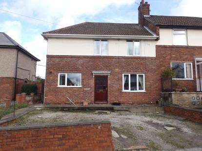 3 Bedrooms Semi Detached House for sale in Elm Street, Hollingwood, Chesterfield, Derbyshire