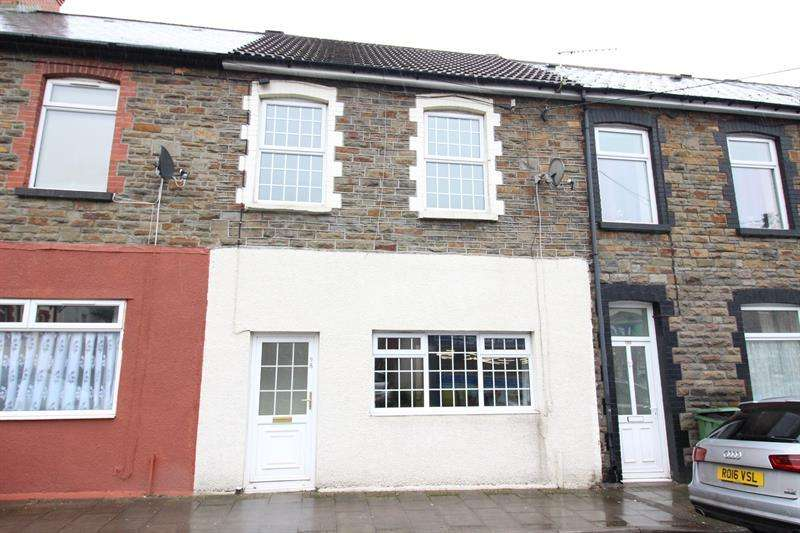 3 Bedrooms Terraced House for sale in Commercial Street, Senghenydd, Caerphilly
