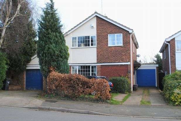 4 Bedrooms Detached House for sale in Leyland Drive, Kingsthorpe, Northampton NN2 8QA