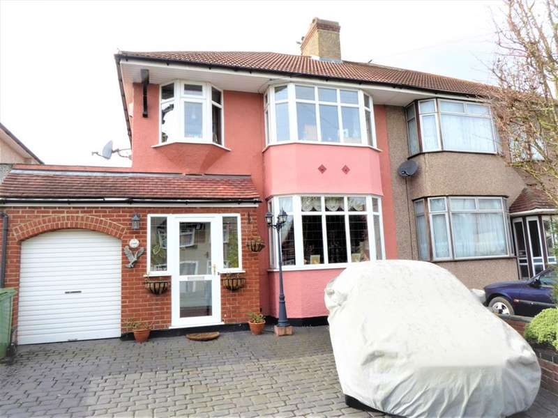 3 Bedrooms Semi Detached House for sale in Luddesdon Road, Bexleyheath/Pantiles Boarders, Kent, DA8 1NG