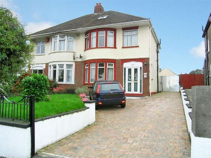 3 Bedrooms Semi Detached House for sale in Greenway Road, Rumney, Cardiff