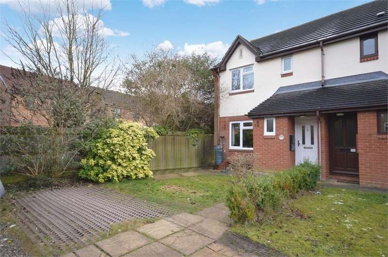 3 Bedrooms Semi Detached House for sale in Clover Avenue, BISHOP'S STORTFORD, Hertfordshire