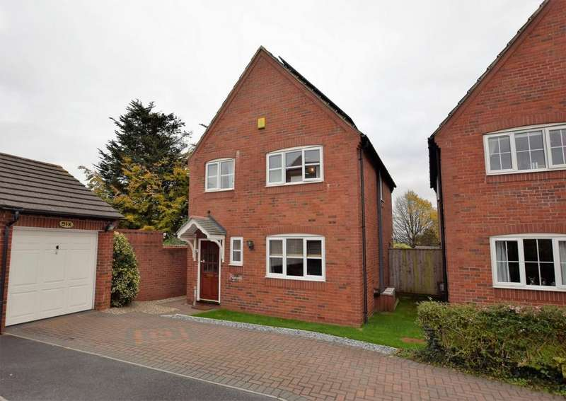 3 Bedrooms House for sale in Edgbaston Mead, Exeter, EX2