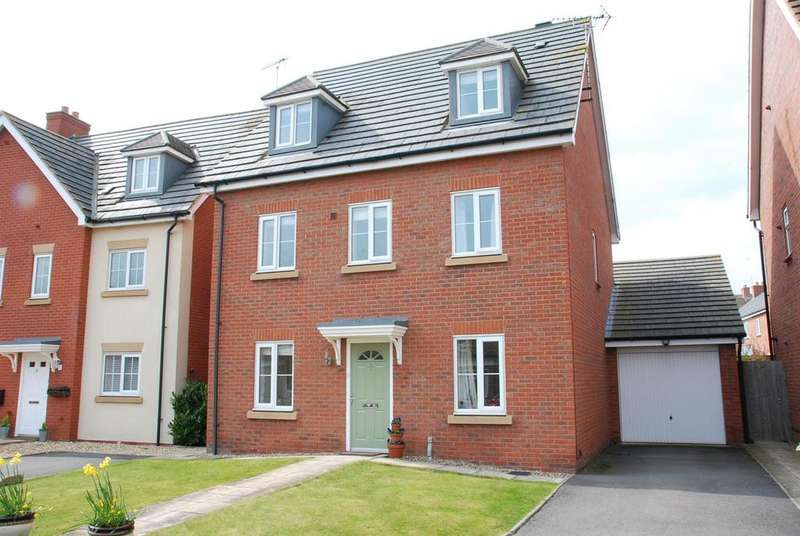 5 Bedrooms Detached House for sale in Camdale Lane, Fernwood, Newark
