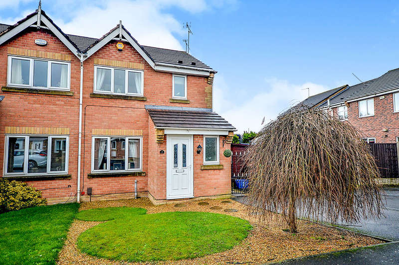 3 Bedrooms Semi Detached House for sale in Pierpoint Place, Kirkby-In-Ashfield, Nottingham, NG17