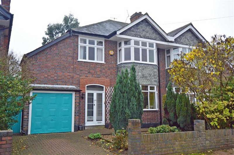 3 Bedrooms Semi Detached House for sale in Hilders Road, Western Park