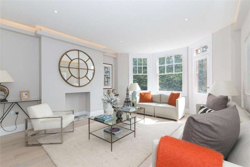 2 Bedrooms Flat for sale in Albany Mansions, Albert Bridge Road, Battersea, London