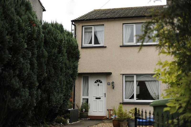 3 Bedrooms Semi Detached House for sale in Mill Road, Glasson, Wigton, Cumbria