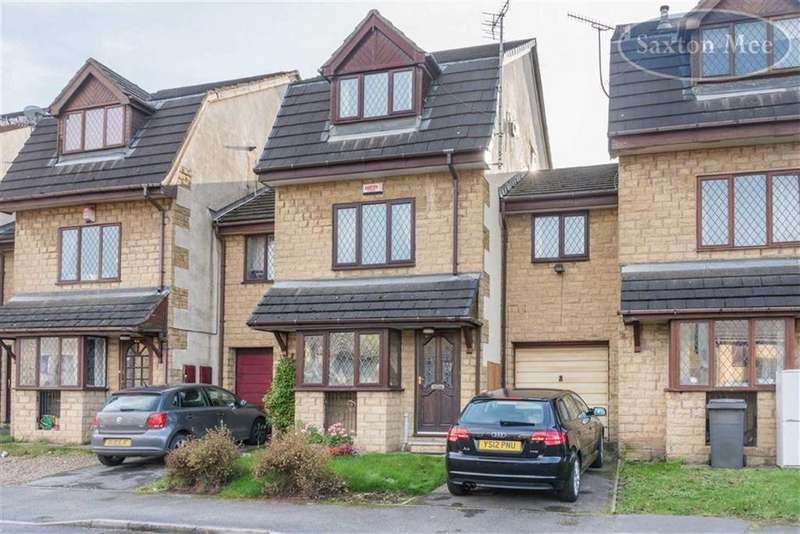 4 Bedrooms Terraced House for sale in Paterson Close, Stocksbridge, Sheffield, S36