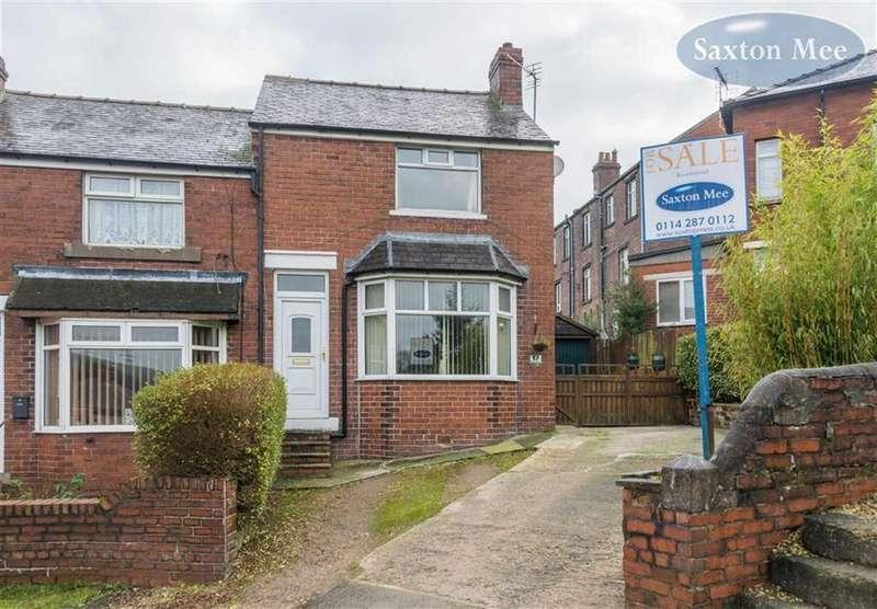 2 Bedrooms End Of Terrace House for sale in Ashfield Road, Deepcar, Sheffield, S36