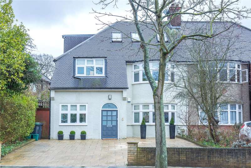 5 Bedrooms Semi Detached House for sale in Twyford Avenue, East Finchley, London, N2