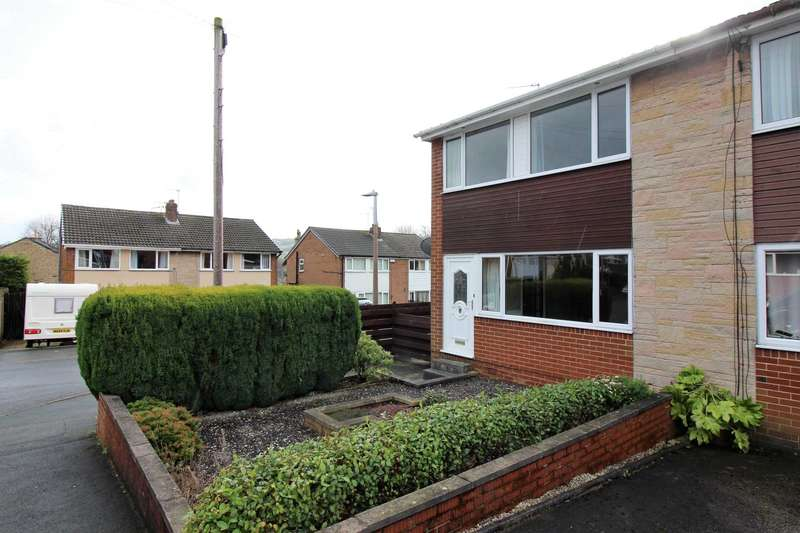 3 Bedrooms Semi Detached House for sale in Daleside Avenue, New Mill