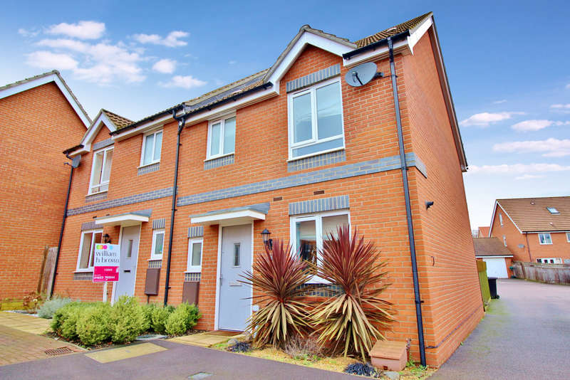 3 Bedrooms Semi Detached House for sale in Crossbill Close, Norwich