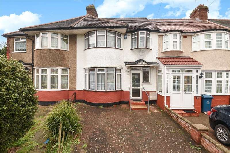 3 Bedrooms Terraced House for sale in Southdown Crescent, Harrow, Middlesex, HA2