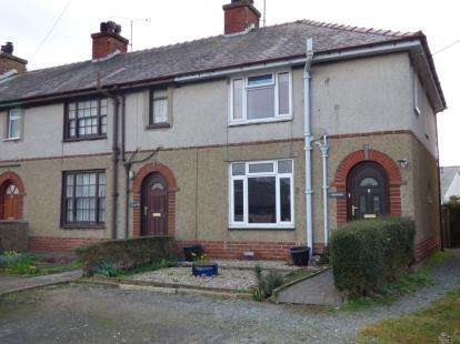 3 Bedrooms End Of Terrace House for sale in Rhestai Rhos, Gaerwen, Anglesey, North Wales, LL60
