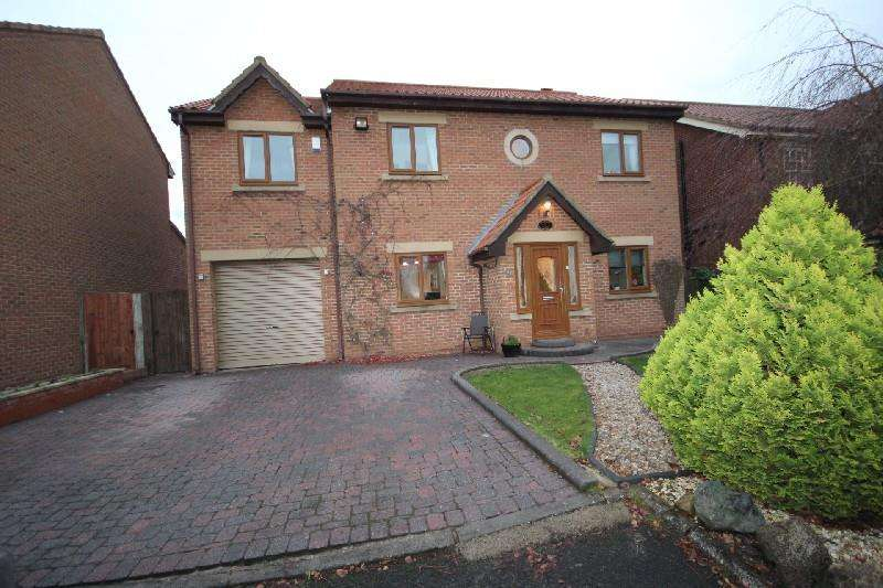 4 Bedrooms Detached House for sale in Woodgate Close, Hartlepool