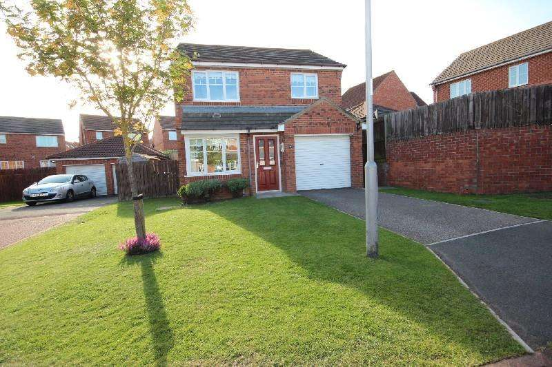 3 Bedrooms Detached House for sale in Dewberry Close, Hartlepool