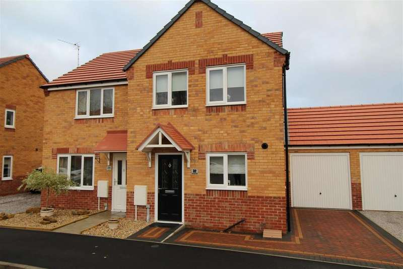3 Bedrooms Semi Detached House for sale in Cemetery Road, Langold, Worksop