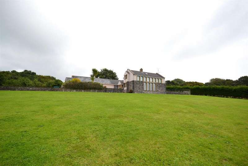 5 Bedrooms Detached House for sale in Lamphey, Pembroke