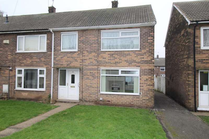 3 Bedrooms End Of Terrace House for sale in Cripps Close, Maltby, Rotherham