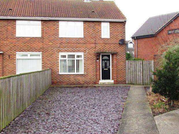 2 Bedrooms Semi Detached House for sale in DENEWAY, SEAHAM, SEAHAM DISTRICT
