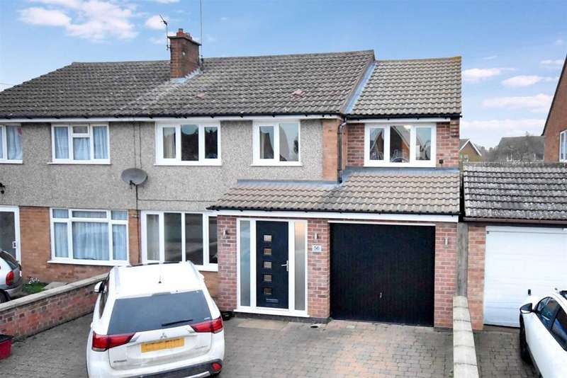 4 Bedrooms Semi Detached House for sale in Beaufort Drive, Barton Seagrave, Kettering