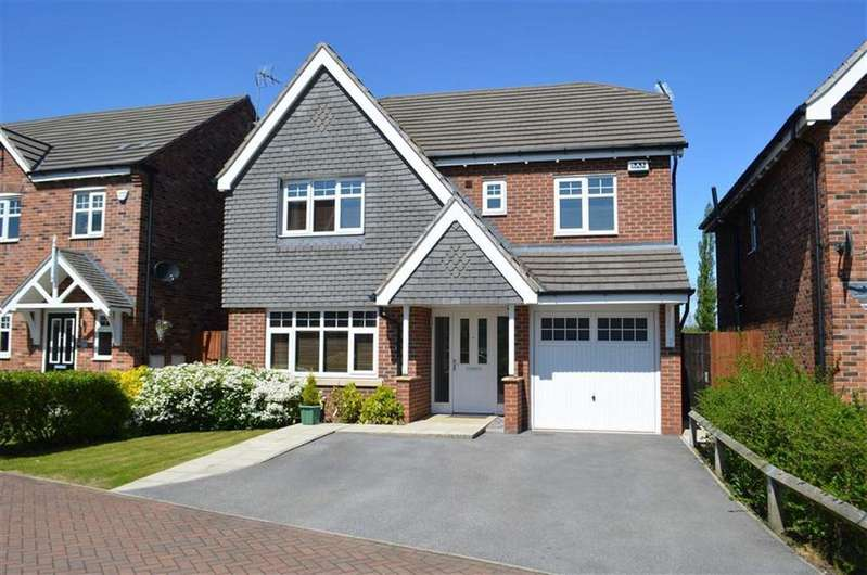 4 Bedrooms Detached House for sale in Sorrel Court, Hawarden, Chester, Deeside, Flintshire