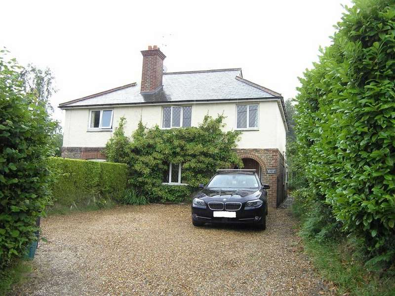 3 Bedrooms Semi Detached House for sale in Burwash Common