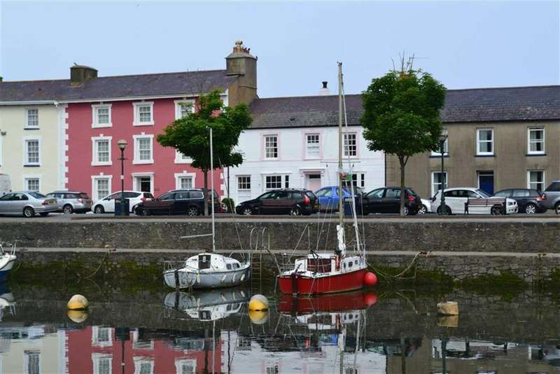 3 Bedrooms Terraced House for sale in Cadwgan Place, Aberaeron, Ceredigion