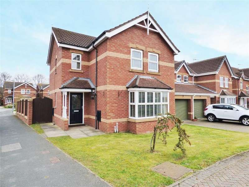 4 Bedrooms Detached House for sale in Sellers Drive, Leconfield, Beverley
