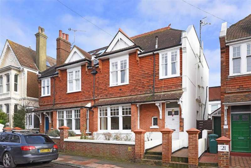4 Bedrooms Semi Detached House for sale in Chatsworth Road, Brighton, East Sussex